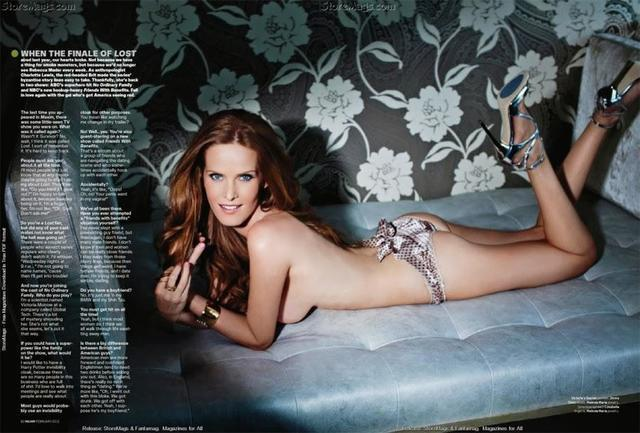 models Rebecca Mader 2015 risqué photoshoot beach