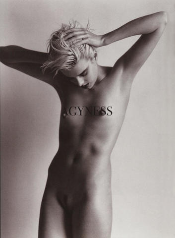 Sexy Agyness Deyn photoshoot HD