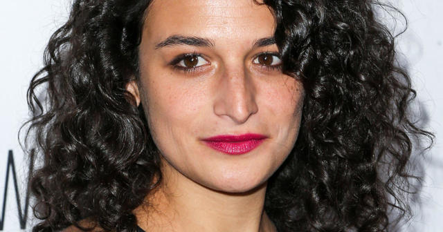 celebritie Jenny Slate young inviting image in public