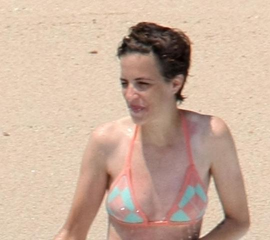 actress Samantha Ronson 20 years bawdy art in public