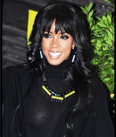 models Kelly Rowland 24 years swimming suit image in the club