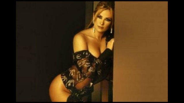 actress Aracely Arámbula 22 years sky-clad image in the club