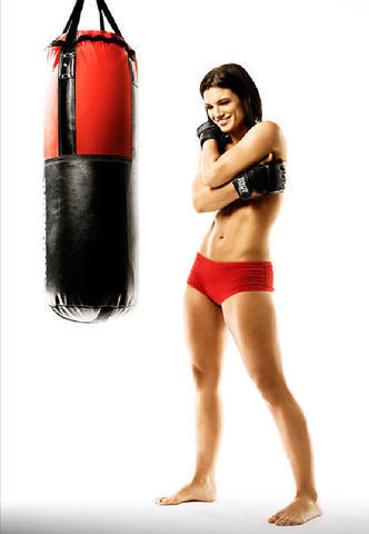 Naked Gina Carano photo