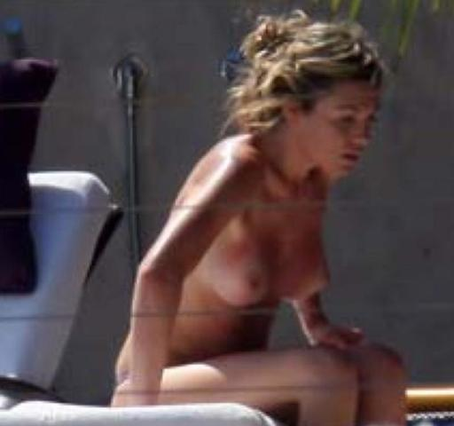 actress Abbey Clancy 22 years carnal picture beach