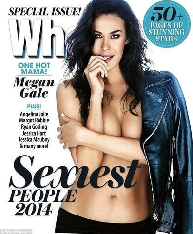 Naked Megan Gale snapshot