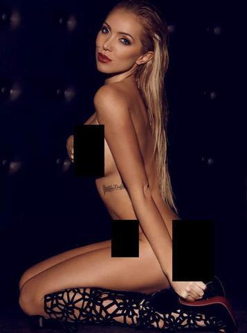 actress Aisleyne Horgan-Wallace 24 years overt photos in public