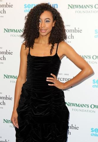 actress Corinne Bailey Rae 20 years bare-skinned photoshoot in the club