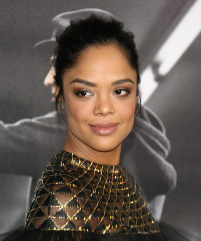 actress Tessa Thompson 18 years concupiscent photo in public