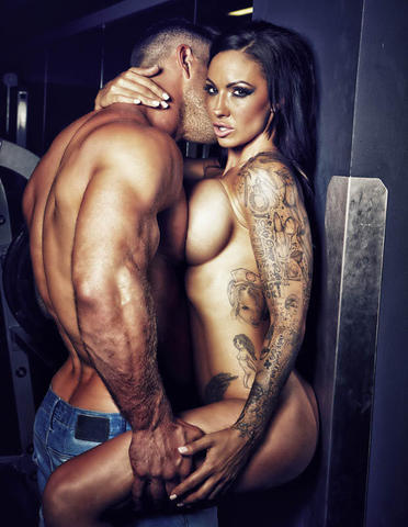 celebritie Jodie Marsh 18 years Uncensored photo home