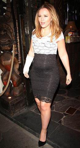celebritie Kimberley Walsh 21 years unsheathed photos home