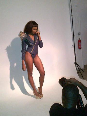Yvonne Nelson topless photoshoot