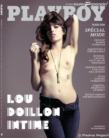actress Lou Doillon 23 years bared picture beach