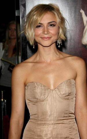 celebritie Samaire Armstrong young Without clothing photoshoot home