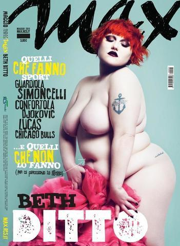 Beth Ditto topless image