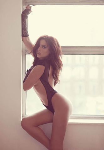 Nadia Forde topless photos
