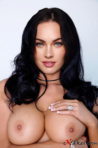 models Megan Fox young bareness foto in public