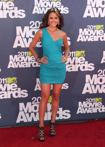models Christina McLarty 23 years buck naked pics in the club
