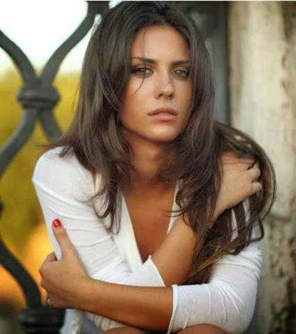 actress Alessandra Cannito 2015 private photoshoot in public