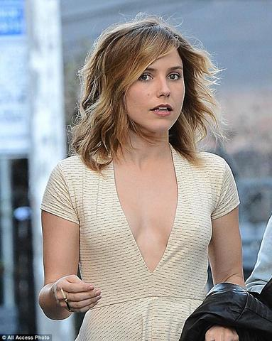 models Sophia Bush 20 years mammilla art in public