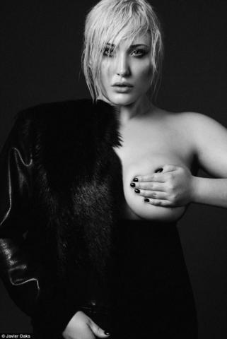 Naked Hayley Hasselhoff art
