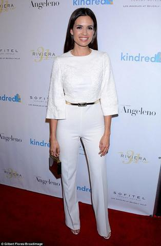 actress Torrey DeVitto 20 years flirtatious photos in the club