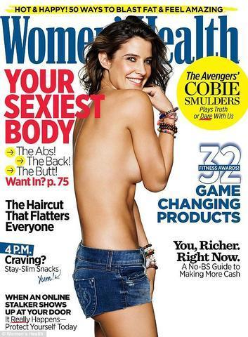 models Cobie Smulders 22 years undress photography in the club