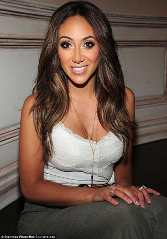 actress Melissa Gorga 20 years provocative snapshot beach