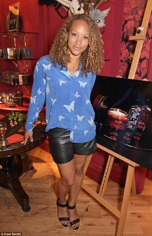 actress Angela Griffin 25 years indelicate pics home