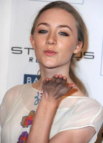 celebritie Saoirse Ronan 21 years fervid picture home