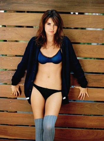 Naked Cobie Smulders picture