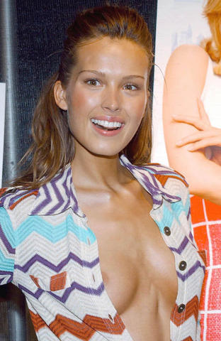 models Petra Nemcova young hooters snapshot in public