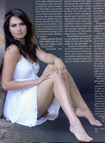 actress Anna Safroncik 22 years amatory picture in public