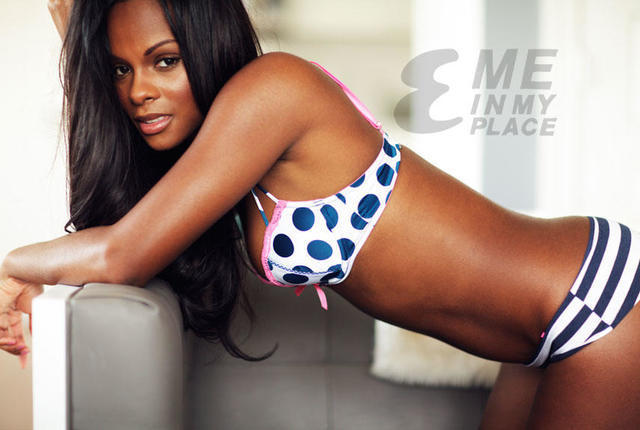models Tika Sumpter young spicy photo in public