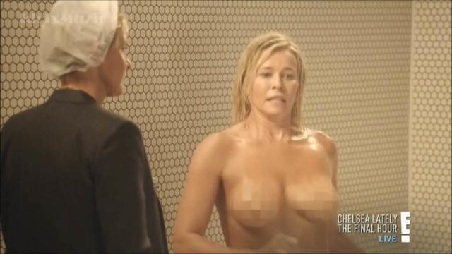 actress Chelsea Handler young k-naked photos in public