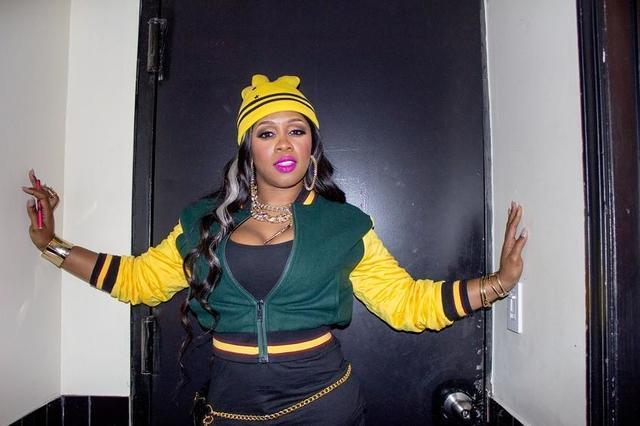 actress Remy Ma 21 years bawdy photoshoot in public