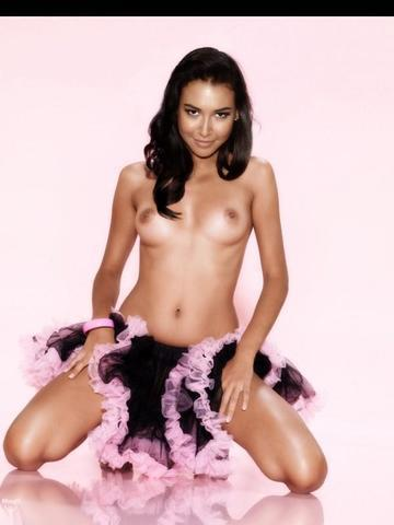 celebritie Naya Rivera 20 years chest image home