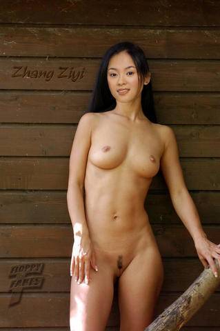 Ziyi Zhang topless photography
