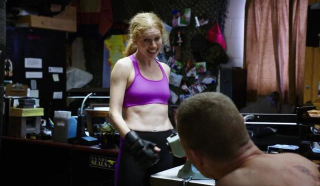 Mireille Enos topless picture
