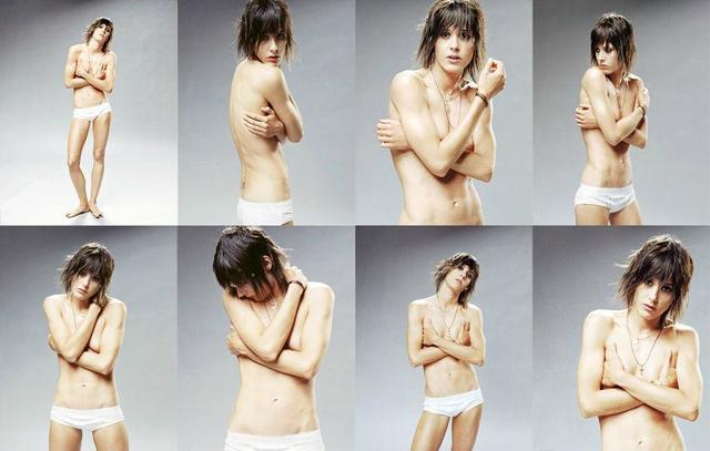 Hot art Katherine Moennig tits