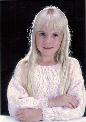 celebritie Heather O'Rourke 20 years amatory image beach
