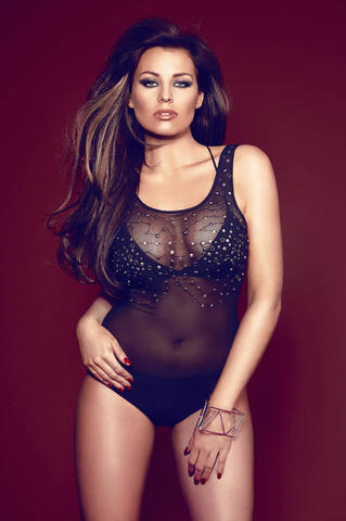 Jessica Wright topless photoshoot