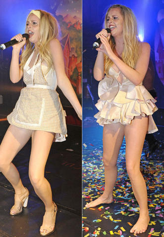 models Diana Vickers 21 years raunchy photo in the club