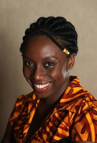 actress Chimamanda Ngozi Adichie 21 years stripped image in the club