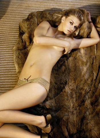 models Adrianne Palicki 23 years Without panties photoshoot beach