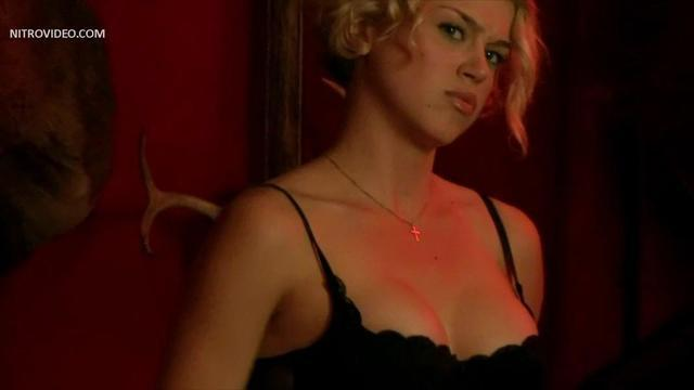 celebritie Adrianne Palicki young exposed photography in the club