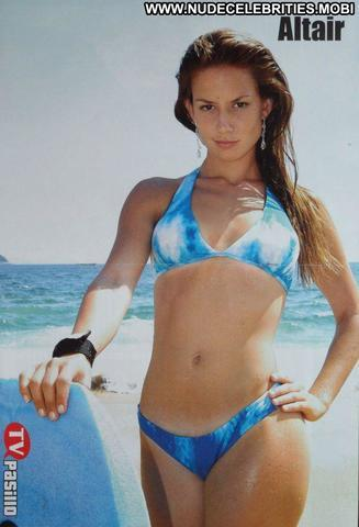 models Altair Jarabo 20 years Uncensored photography beach