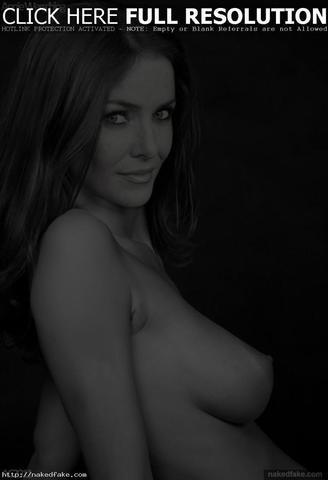 Annie Wersching topless photography