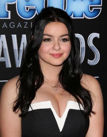 models Ariel Winter 23 years amatory photoshoot in the club