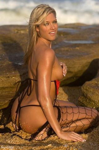 Barbie Blank topless photo