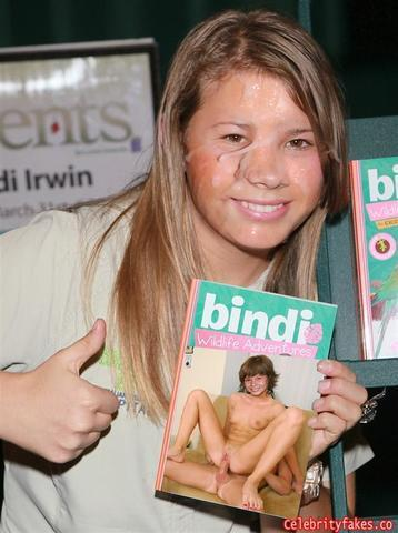 Bindi Irwin nude picture